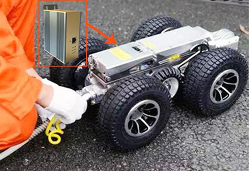 管道机器人数据传输系统